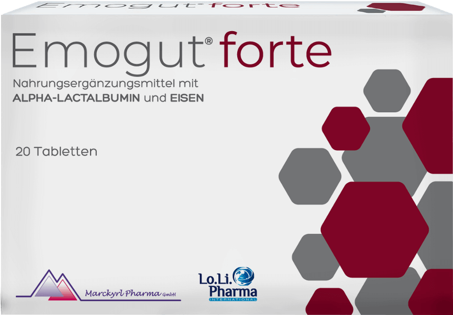 For fatigue & exhaustionEmogut® forte